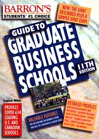 Guide to Graduate Business Schools Серия: Students' №1 Choice инфо 641g.