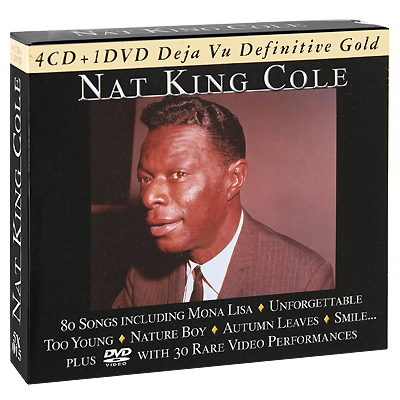 Nat King Cole Nat King Cole (4 CD + DVD) Серия: Deja Vu Definitive Gold инфо 4544g.