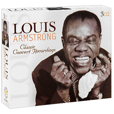 Louis Armstrong Classic Concert Recordings Live (3 CD) Серия: Golden Stars инфо 4973g.